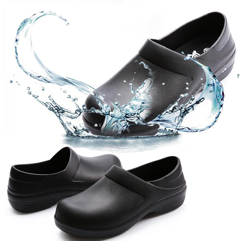 Unisex food industry sandal waterproof EVA chef shoes,waterproof hotel chef clog shoes