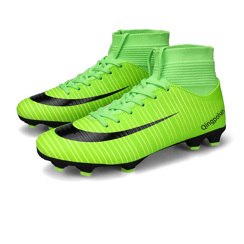 EU35-44 Original พื้น FG Professional ฟุตบอลสำหรับเด็กฟุตบอลรองเท้า Cleats สำหรับชาย