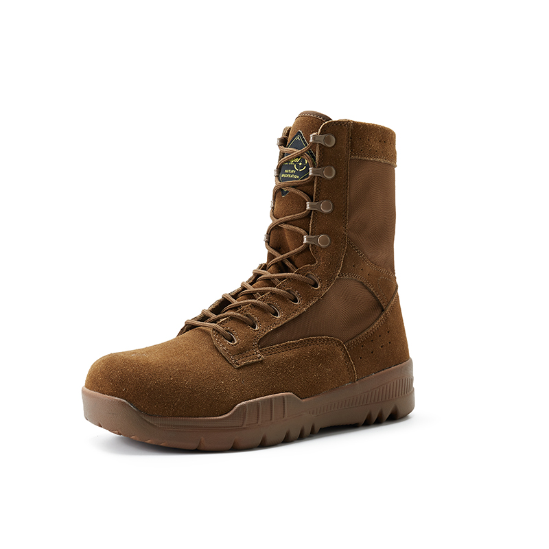 2020 new fashion combat boys boots brown coyote colour