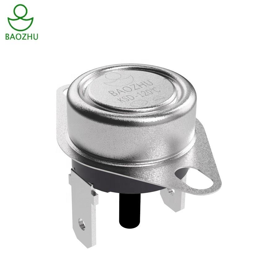 KSD301 N//C 30 C 10A normalmente chiuso Interruttore Di Temperatura bimetallica del disco klixon