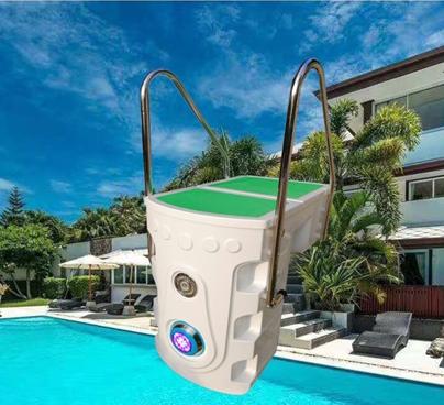 สระว่ายน้ำ pipeless กรอง, integrated สระว่ายน้ำกรอง, อุปกรณ์สระว่ายน้ำ