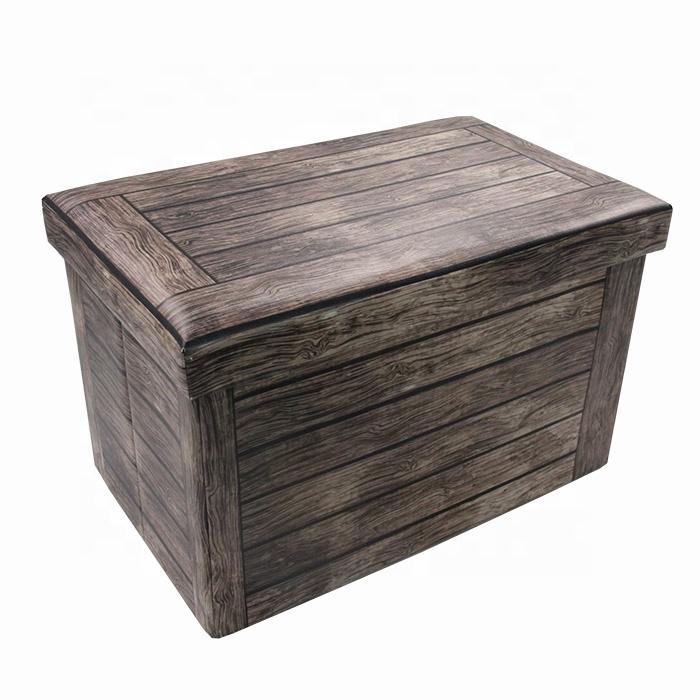 Furniture Folding Storage Convertible Ottoman Bench