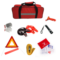 Aliot Roadside Assistance Auto Emergency Car Kit Automotive Car First Aid Kit