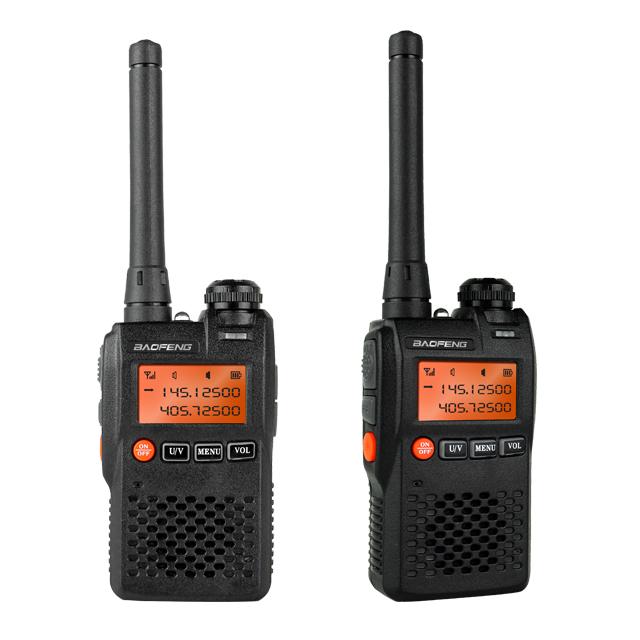 Baofeng UV-3R + Dual Band VHF UHF Genggam Walkie Talkie Transmitter Warna-warni Baofeng UV 3R UV-3R +