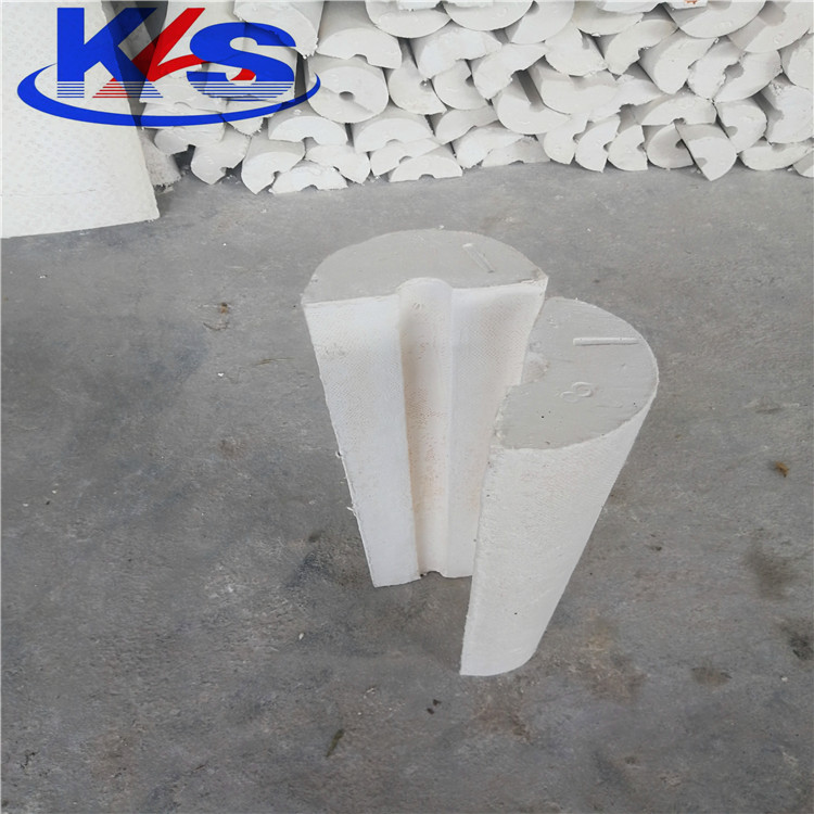 Water Repellent high temperature Calcium Silicate heat insulation Pipe cover material