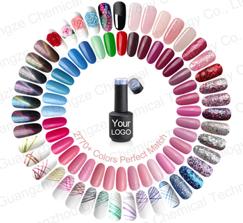 DZ 2770 Colors Perfect private label color gel uv 15ml color nail gel polish
