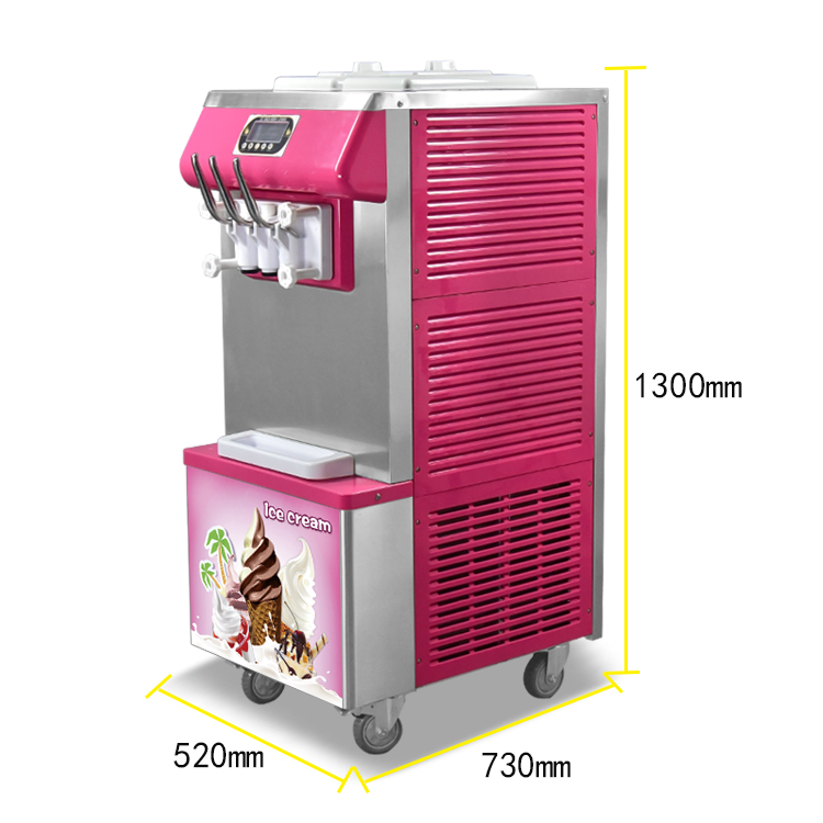 hot sale philippines used soft serve ice cream making machines 110 volt soft