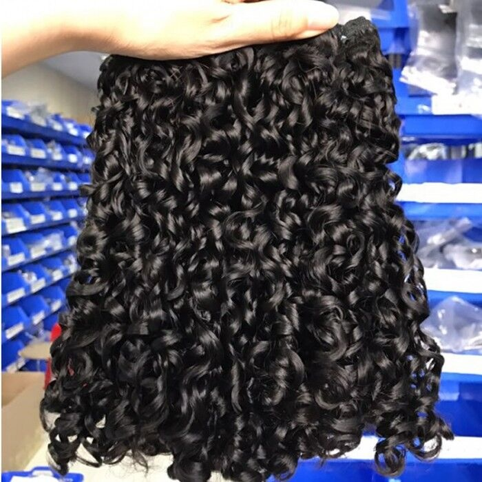 Wholesale Super Double Drawn Pixie Curl Small Kinky Curly Human <strong>Hair</strong> Cuticle Aligned Virgin <strong>Hair</strong>