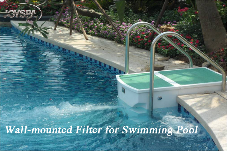 Swimming Pool Wall-mounted Pipeless Spa Filter with Time Controller