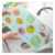 Easy to clean and hygienic color silk screen printed glass vegetable chopping board | cutting board