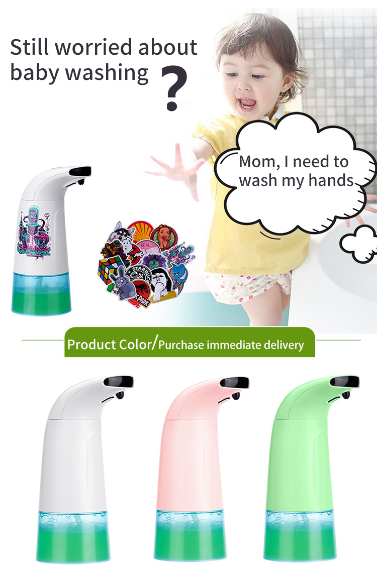 Top seller foam soap dispenser automatic sensor hand sanitizing soap dispenser