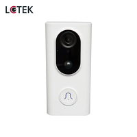 LCTEK 2020 New Tuya 1080P 960P Smart Video Wifi doorbell Battery Low power consumption wireless Intercom Doorbell Camera