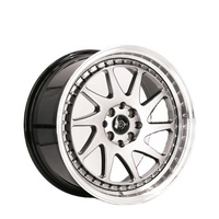 DM133 Manufacturer Milled Machined Rivets 4X100 17 Aluminum Alloy Wheels