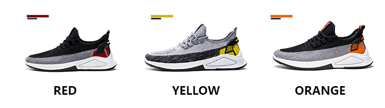 Fashion running trainers jogging sneakers men's casual shoes