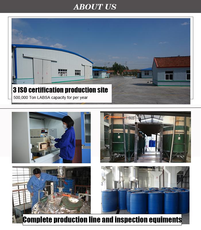 Best Price Liquid Linear Alkyl Benzene Sulfonic Acid price 96% Labsa