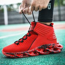 Амортизирующие кроссовки для баскетбола, Мужские дышащие кроссовки, спортивные кроссовки, спортивная обувь(Китай)