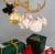 plastic large outdoor christmas tree led hanging ball lights