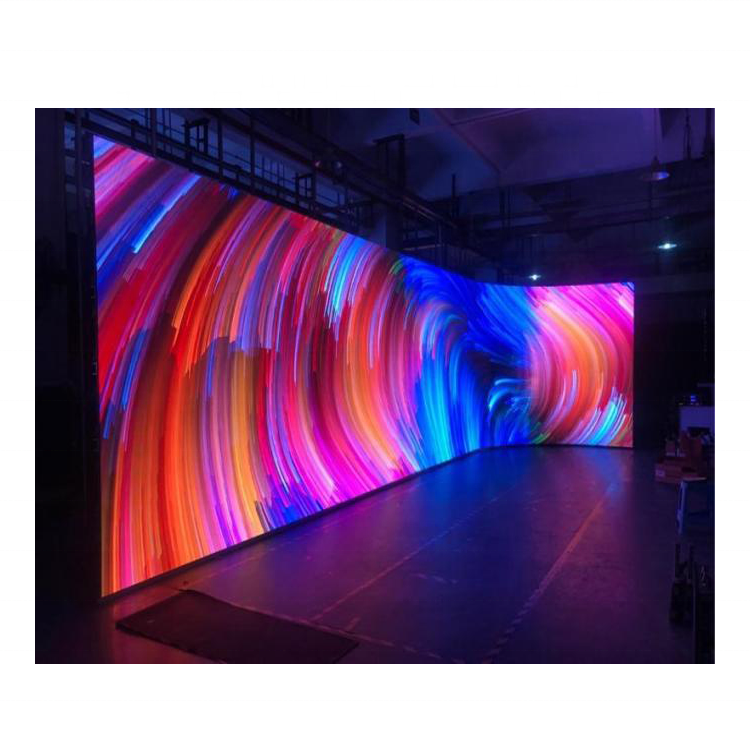 full color led screen curve led tv screen P4 SMD2525 indoor SMD <strong>video</strong>