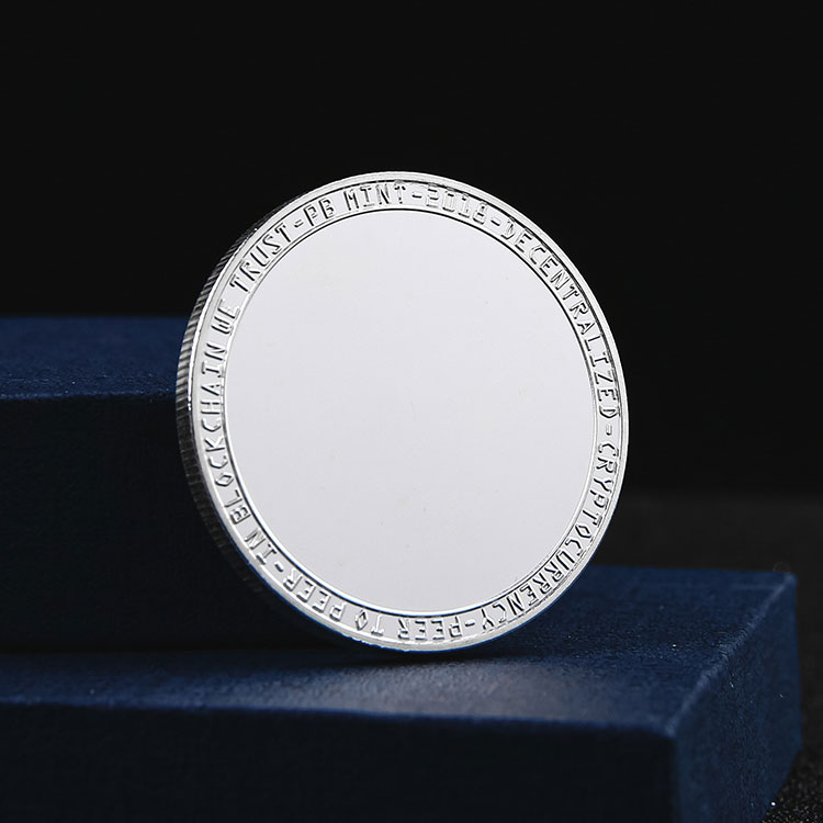 Manufacturers custom wholesale metal original plate antique silver coin