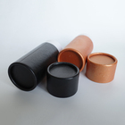 Tube Paper Tubes Manufacturers Low MOQ 30ml Orange Embossing Color Printed Packaging Round Kraft Paper Tube In Stock