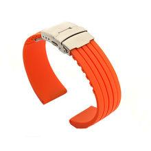 Силиконовый резиновый ремешок для наручных часов Oris, для мужчин и женщин, для мужчин, нержавеющая сталь, ремень безопасности, ремешок на зап...(Китай)
