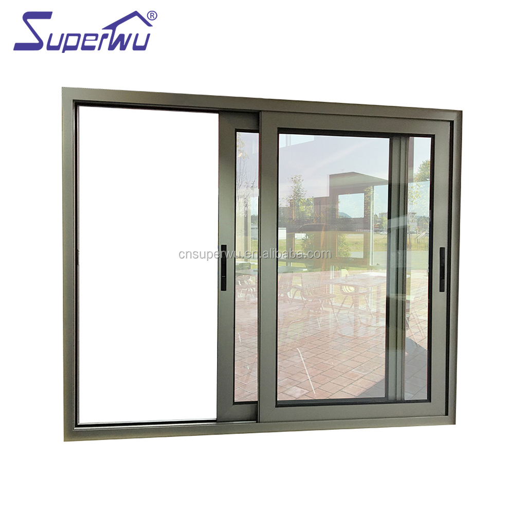 Australia standard aluminum sliding window glass sliding window