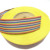 105 degree 300V Rainbow color pvc coated flat ribbon coated wire cables 1.0mm 34pin AWM 2651 7/0.127TS 28AWG