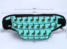 На заказ поясная сумка для мужчин с принтом серого цвета ваш собственный дизайн хип-ремень поясная сумка для женщин телефон молния сумка ун...(Китай)