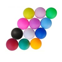 China wholesale cheap table tennis ball 40mm pp plastic pingpong balls for lottery playing ping pong ball game decoration