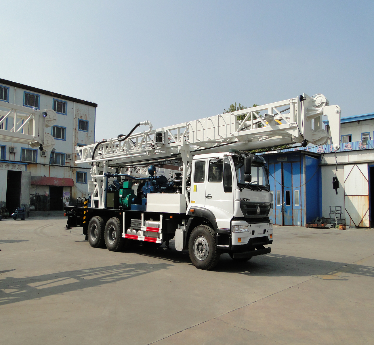 400m mobile hydraulic water well drilling rig