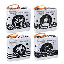 TUMAMA, детские игрушки, мягкая ткань, Книги для малышей, животные, тема океана, детская книга, 4 упаковки, Игрушки для раннего образования, 0-24 ме...(Китай)