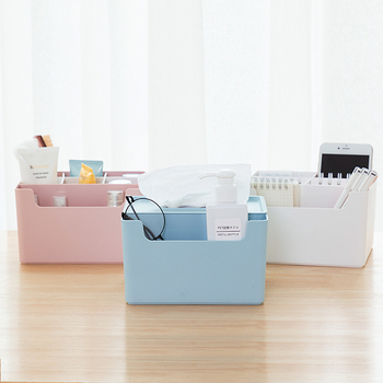 Good Design High Quality Plastic Makeup Storage Organizer Tissue Box