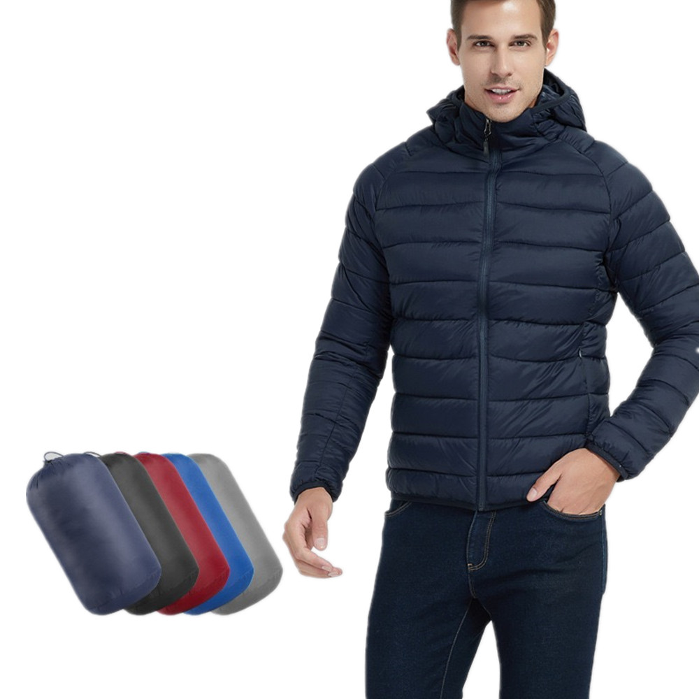 New Design <strong>Winter</strong> Light Down <strong>Jacket</strong> Custom <strong>Mens</strong> Puffer <strong>Jacket</strong> With Hood