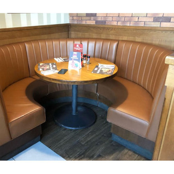 Astonishing Modern American Retro Style Restaurant Diner Leather Bench Seat Booth Seating Sofa Restaurant Booths For Sale Buy Modern Restaurant Booths For Dailytribune Chair Design For Home Dailytribuneorg