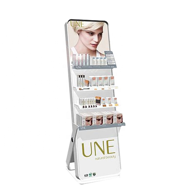 Factory <strong>Retail</strong> Customized Elegant Advertising Makeup Show Acrylic Cosmetic Display Racks Stand