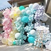 Wedding Stage Decoration Balloon Macaron Color Latex Free Balloons