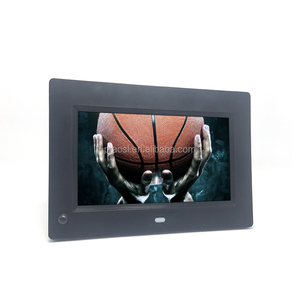 Factory wholesale price high resolution 800*480 motion sensor  7 inch LCD photo frame Digital