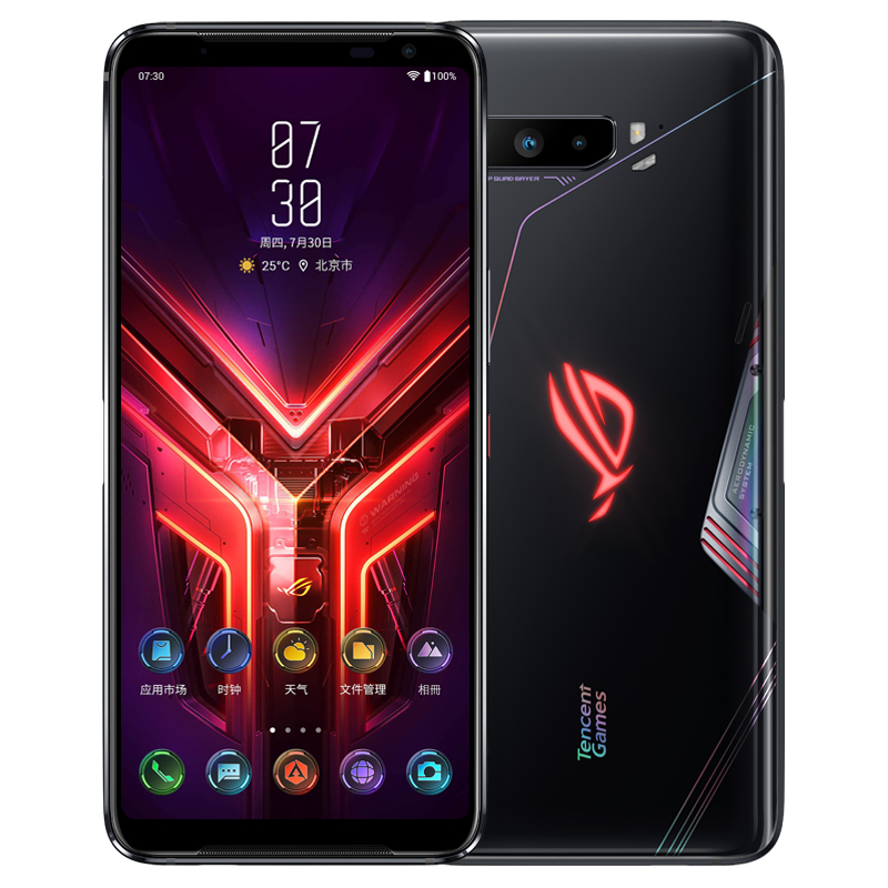 "Global ROM ROG Phone 3 5G Gaming 6.59 ""12/16GB RAM 128/256G/512GB ROM Snapdragon 865/865 Plus 6000mAh 144HZ FHD+ AMOLED ROG3"