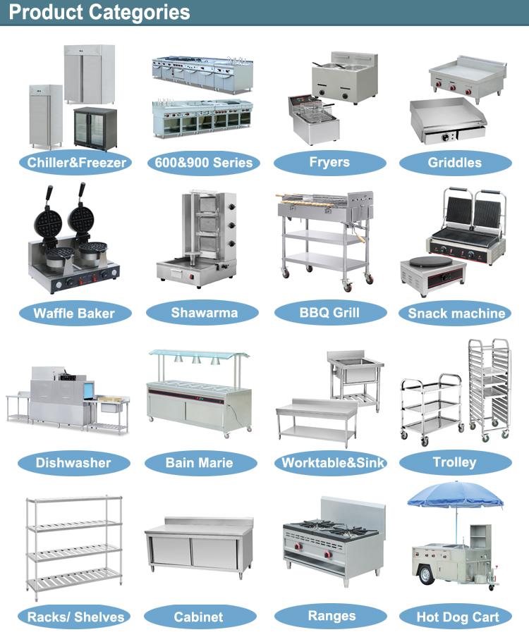 Customized Restaurant Equipment For Hotel Kitchen ...
