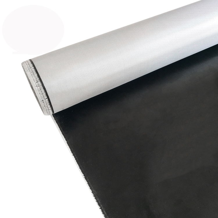 black fiberglass cloth by the roll and resin