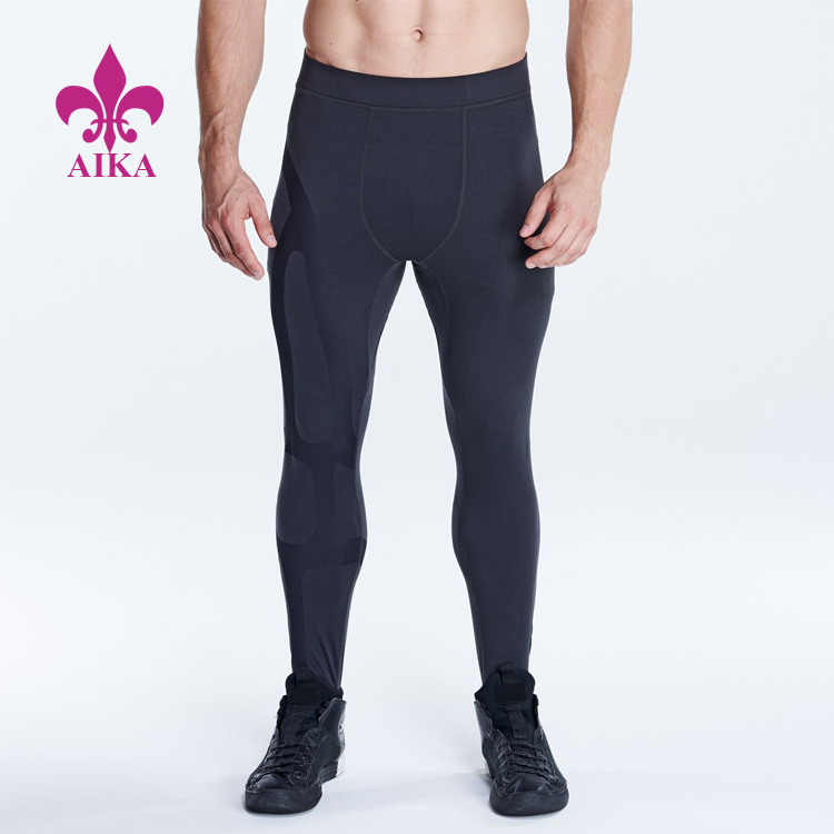High Quality Custom Supportive Compression Comfortable Breath Men Sports Leggings