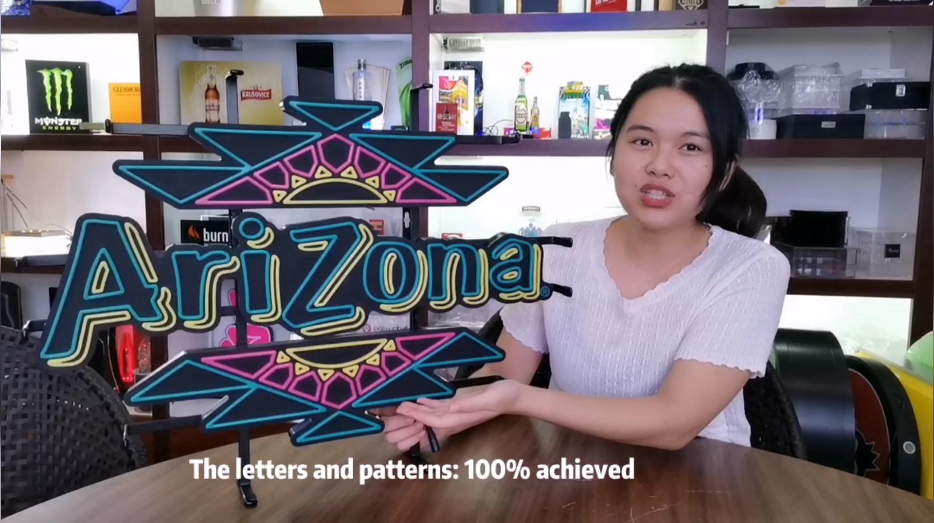 סין סמכות משלוח עיצוב להשיג כל לוגו דפוס מכתב גופנים LED אותיות אישית שלט ניאון