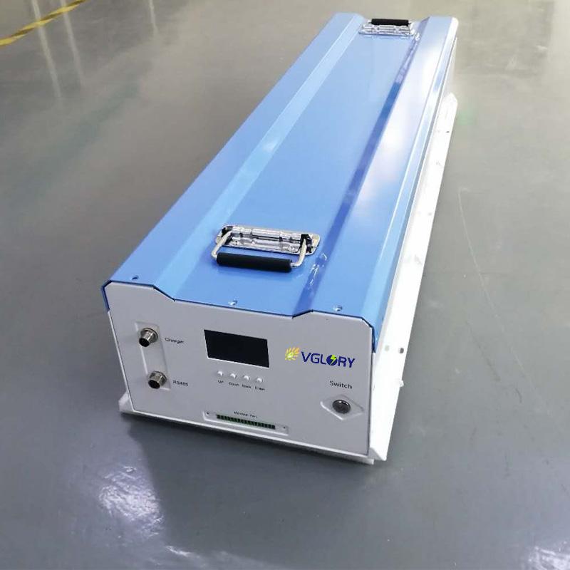 China Wholesale High energy capacity deep cycle lithium ion battery 72v100ah