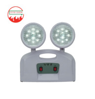 Factory direct sale Wall Mounted twin spot automatic emergency light