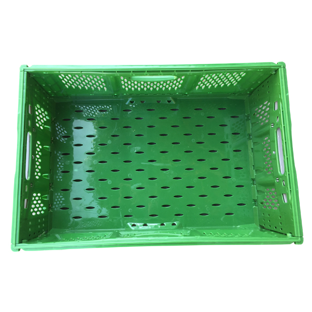 PP material stackable Foldable collapsible plastic crates