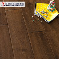 Jaenmaken Maple Parquet Solid Hardwood Flooring