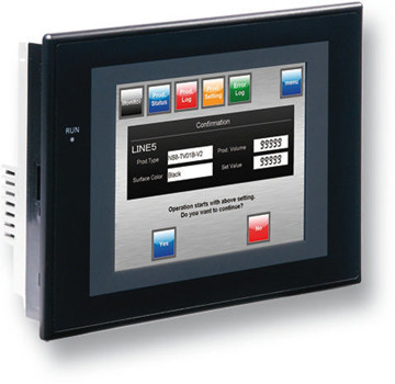 Original NS5-SQ10B-<strong>V2</strong> Touch screen HMI 5.7 inch TFT 256 Colors <strong>2</strong> x RS-232C Ports 60MByte Memory 24 VDC Black Case Low Price