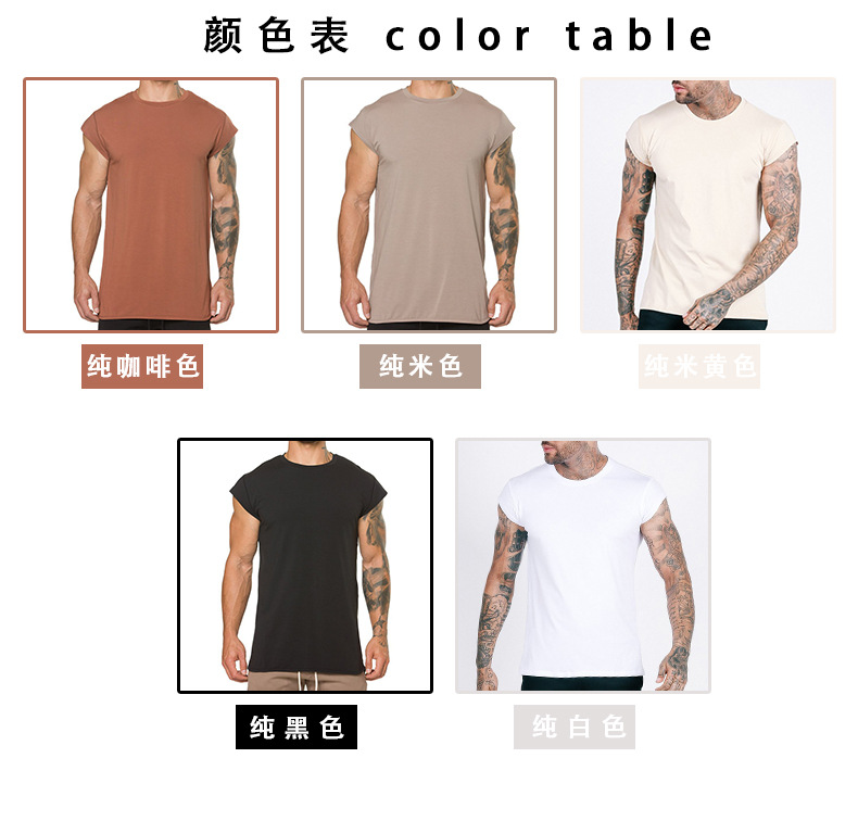 Wholesale Casual design sports t-shirts for men