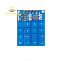 16 Channel Digital Touch Sensor Module 16-way Capacitive Touch Switch Module TTP229