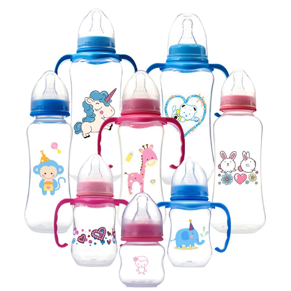Botol Susu Bayi Kecil Diskon Besar Botol Susu Layanan OEM untuk Balita